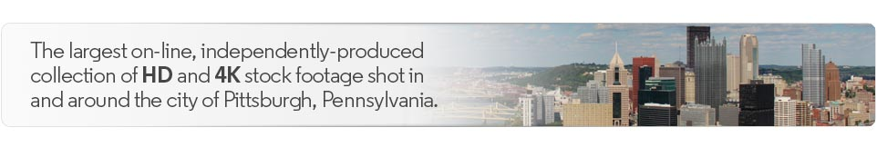 Welcome to the largest, independently-produced collection of royalty-free high-definition HD and 4K stock footage clips shot in and around Pittsburgh, Pennsylvania.